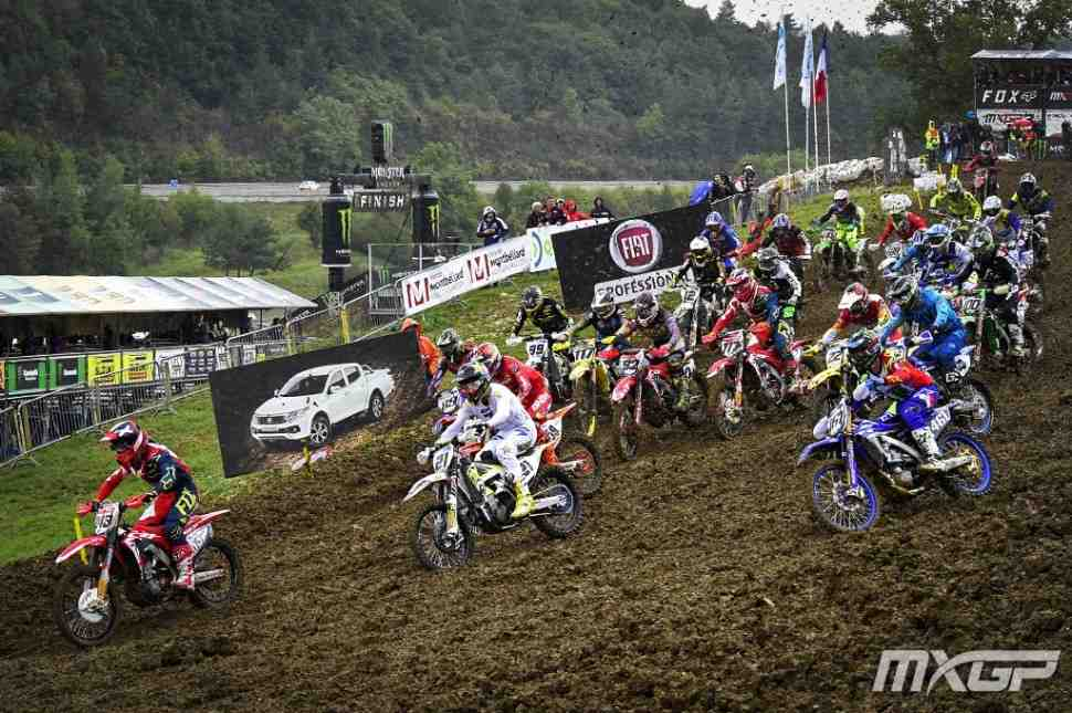 Мотокросс MXGP/MX2: видео квалификаций Гран-При Pays de Montbeliard (Франции)