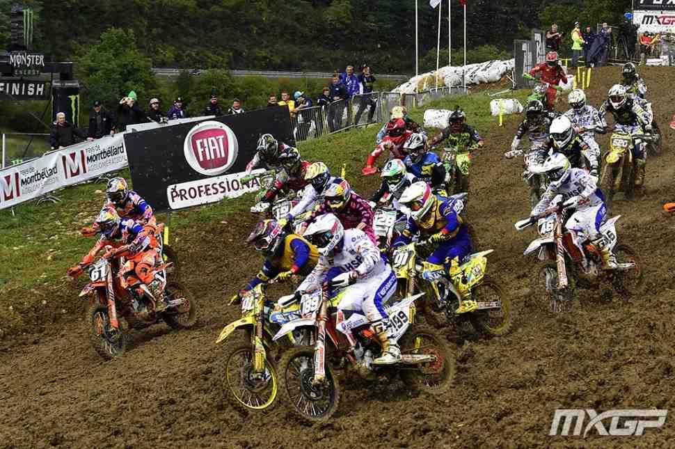 Мотокросс: результаты квалификаций Гран-При Pays de Montbeliard (Франции) MXGP/MX2