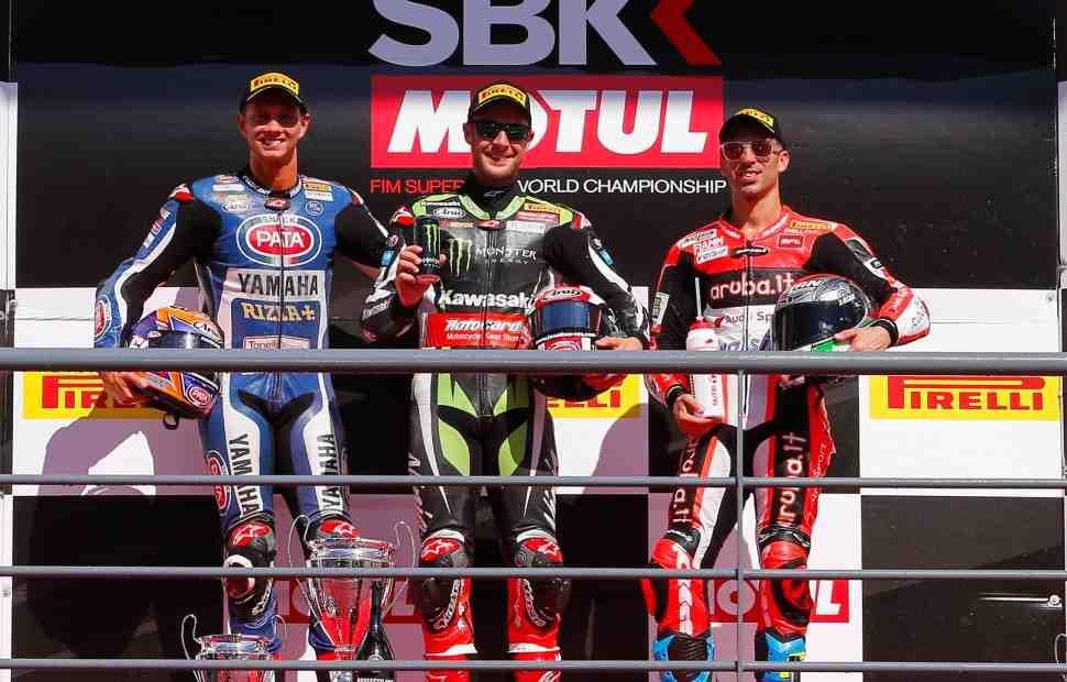 WSBK: Результаты 2 гонки в Портимао
