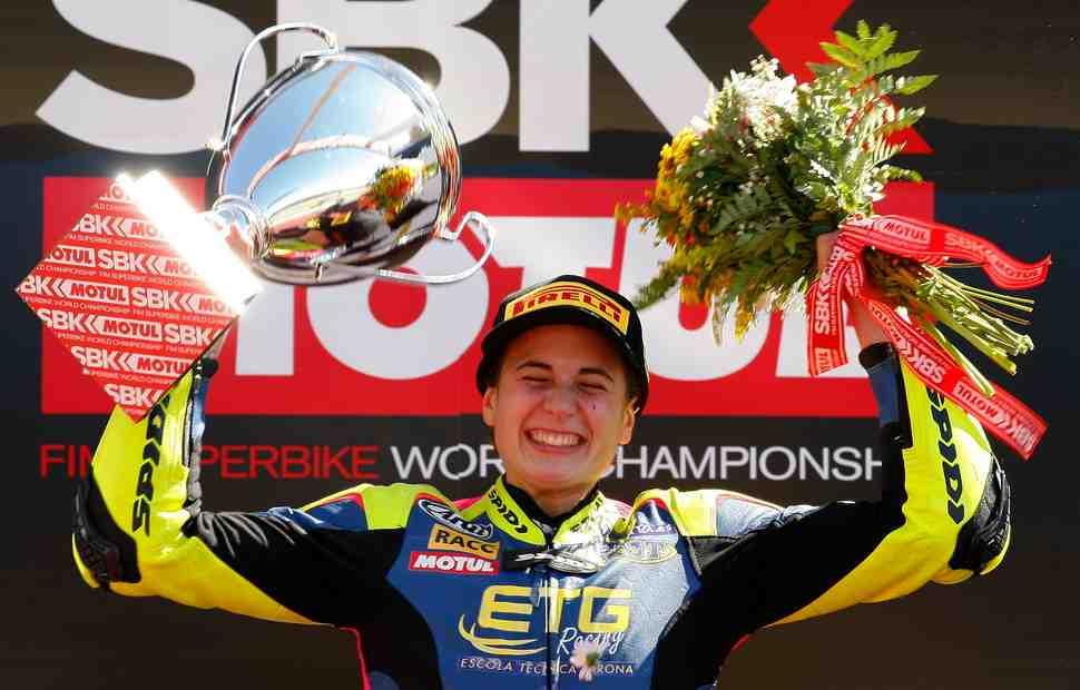 WSBK: Аня Карраско взяла историческую победу в чемпионате мира
