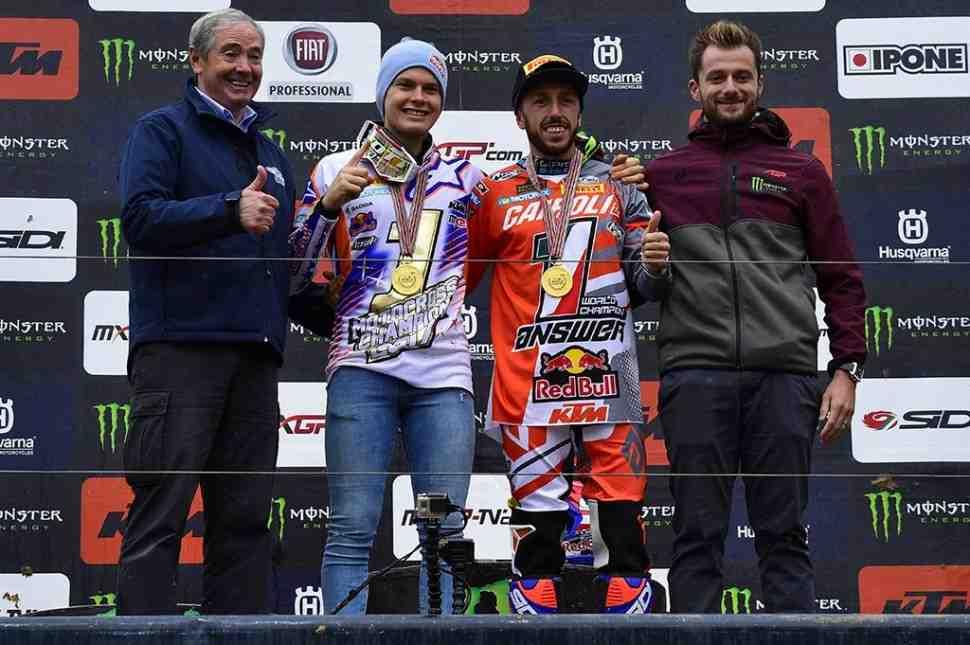 Мотокросс: результаты Гран-При Pays de Montbeliard и итоговый протокол MXGP/MX2