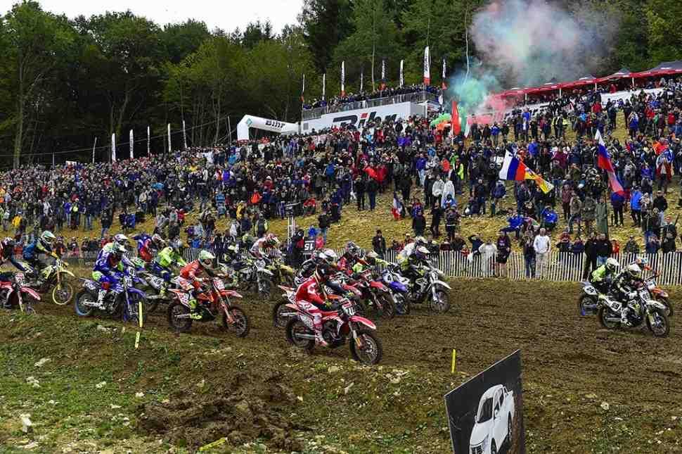 Мотокрос MXGP/MX2: видео Гран-При Pays de Montbeliard (Франции)