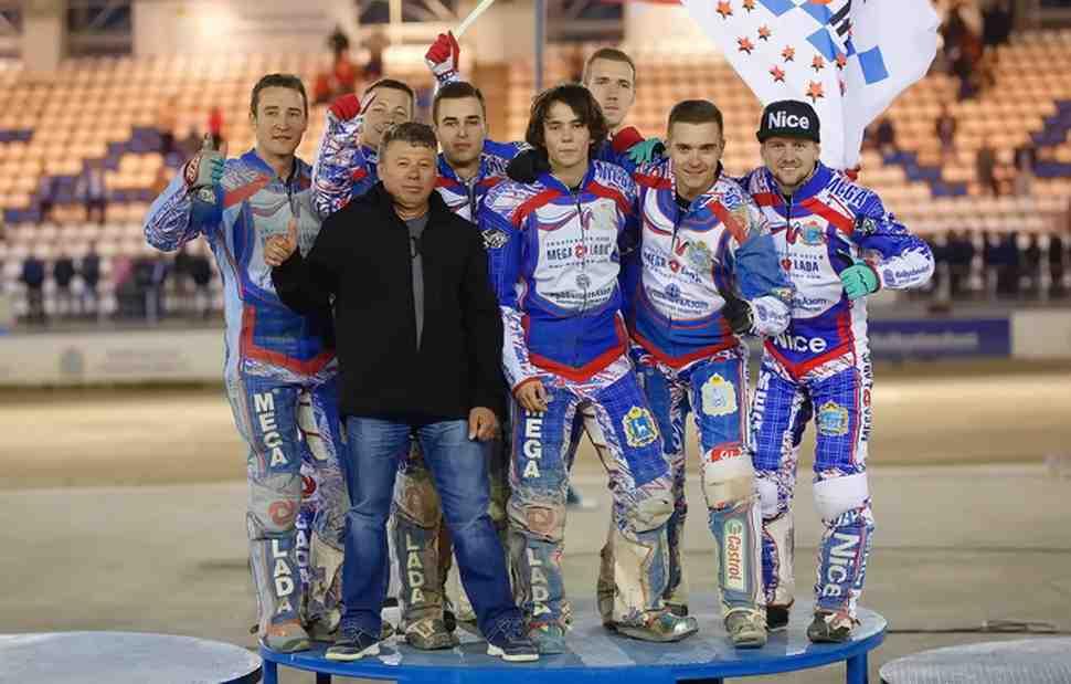 МЕГА-ЛАДА вернула титул чемпиона России по спидвею в юбилейном году