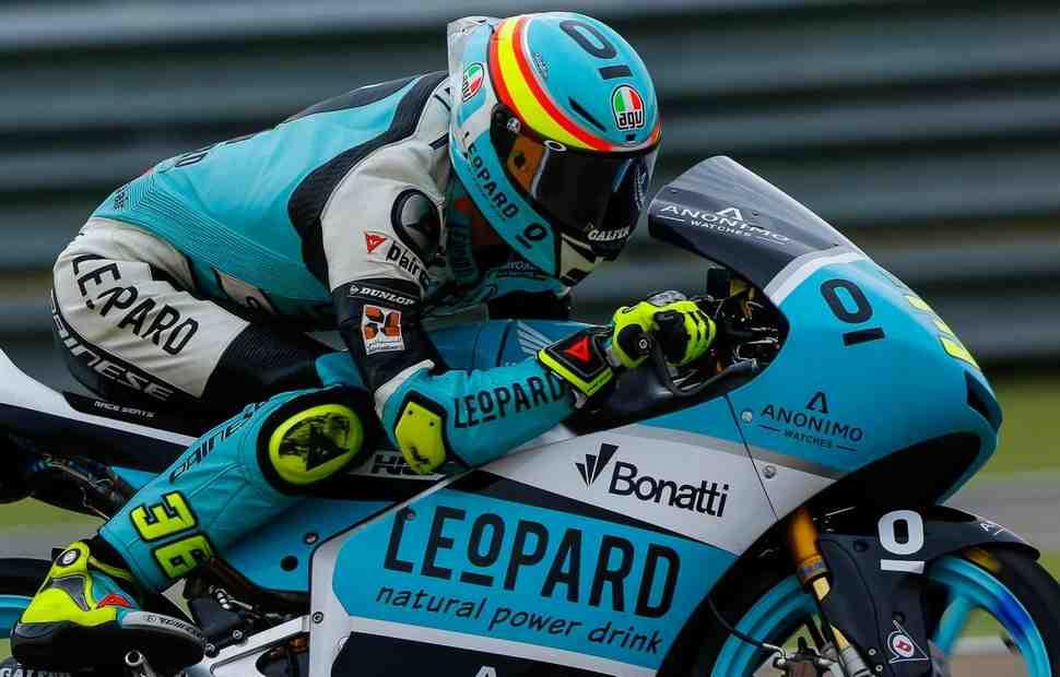 Жоан Мир обеспечил себе титул в Moto3 победой в Гран-При Арагона