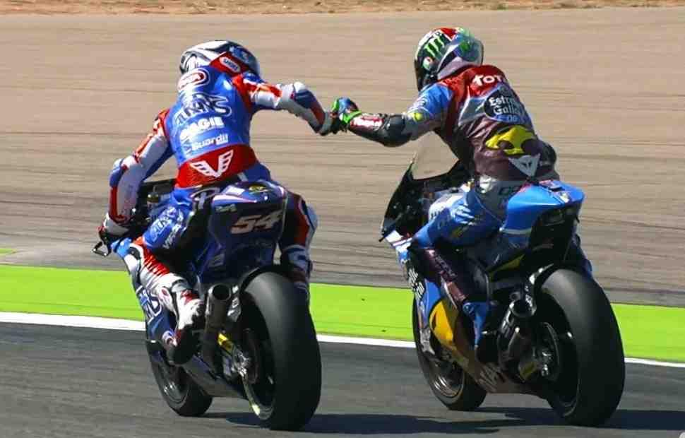 Moto2: Блистательный маневр в Штопоре позволил Морбиделли выиграть Арагон