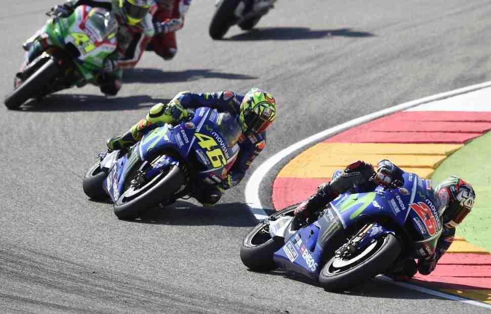 MotoGP: Виньялеса в Арагоне подвел выбор задней покрышки