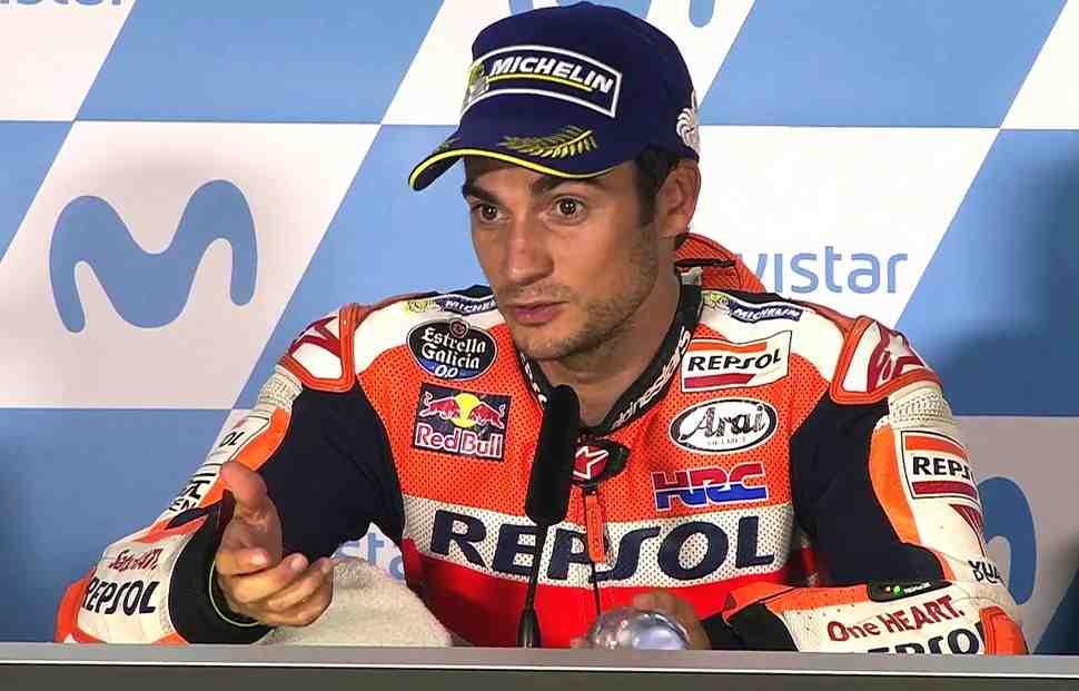 MotoGP: Дани Педроса - Я не представлял, как будет развиваться эта гонка!