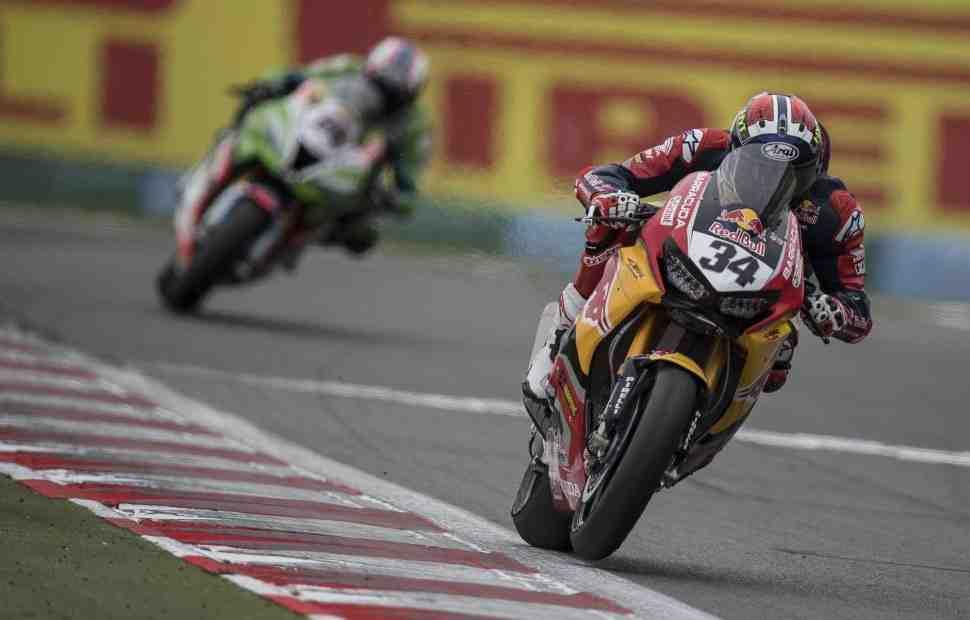 WSBK: Давиде Джулиано - у Honda был темп для финиша в TOP-6