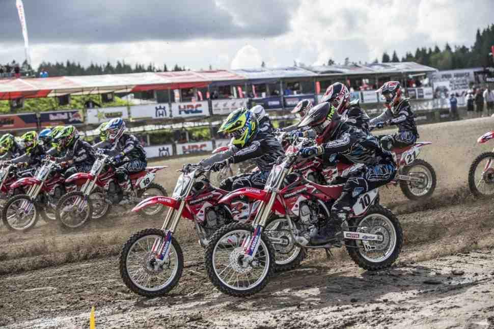 Мотокросс: Honda прекращает моно-чемпионат EMX150 и переключается на EMX250 и MX2