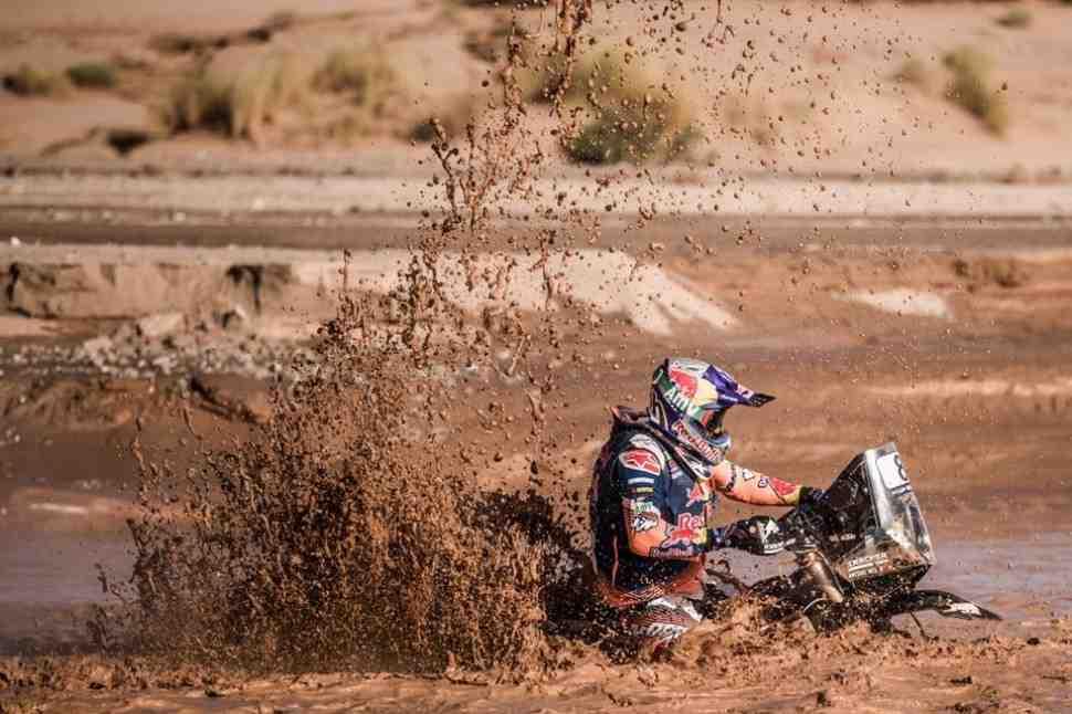Второй этап Ралли Марокко утонул в грязи