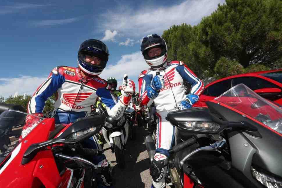 Видео: Honda Fireblade Festival провели в рамках знаменитой гонки Bol D′or во Франции