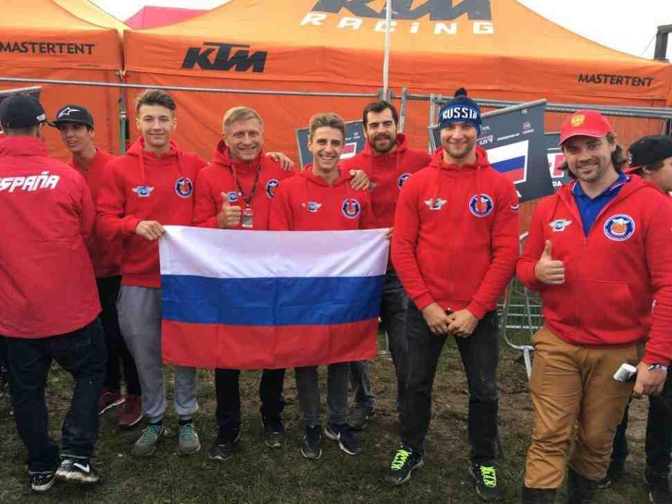 Мотокросс Наций: обеспечение сборной России было отдано команде Пуэрто-Рико