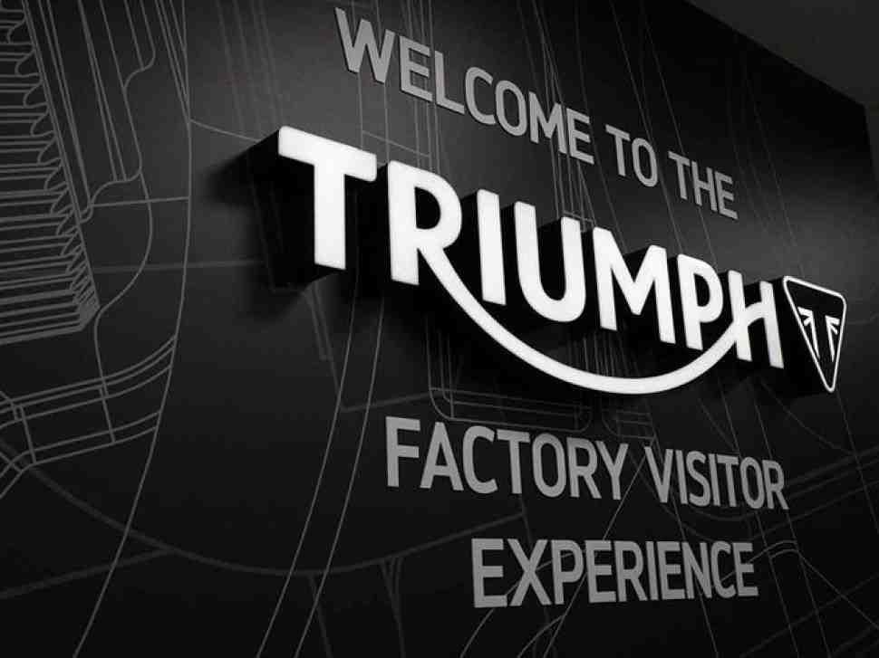 Triumph открыл для общего доступа свой музей и стал проводит туры по заводу