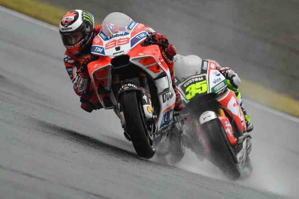 MotoGP: Лоренцо намерен биться за победу в Мотеги - Мне нужна дождевая гонка!