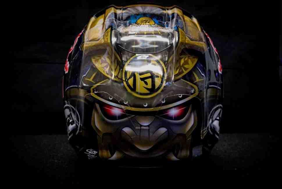 MotoGP: Педроса получил Alpinestars и ARAI RX-7 Motegi Edition 2017 для Гран-При Японии