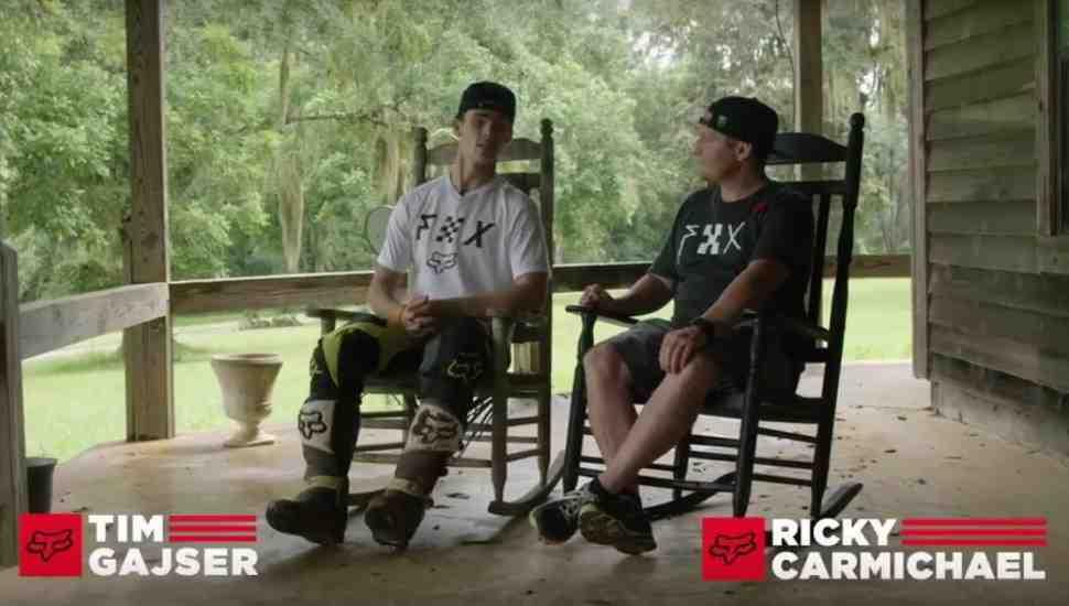 Суперкросс: Тим Гайзер в гостях у Рики Кармайкла - видео FOX