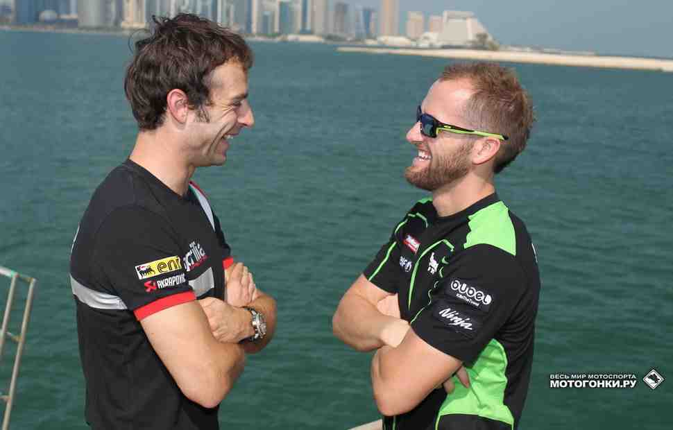 Чемпион WSBK 2014 Сильвейн Гуинтоли поедет в оставшихся гонках сезона за Puccetti Kawasaki