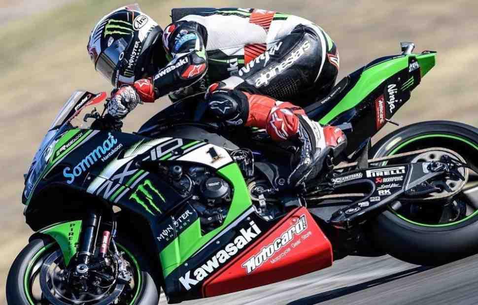 WSBK: Ducati вручает Джонатану Рэю неожиданный подарок в Хересе