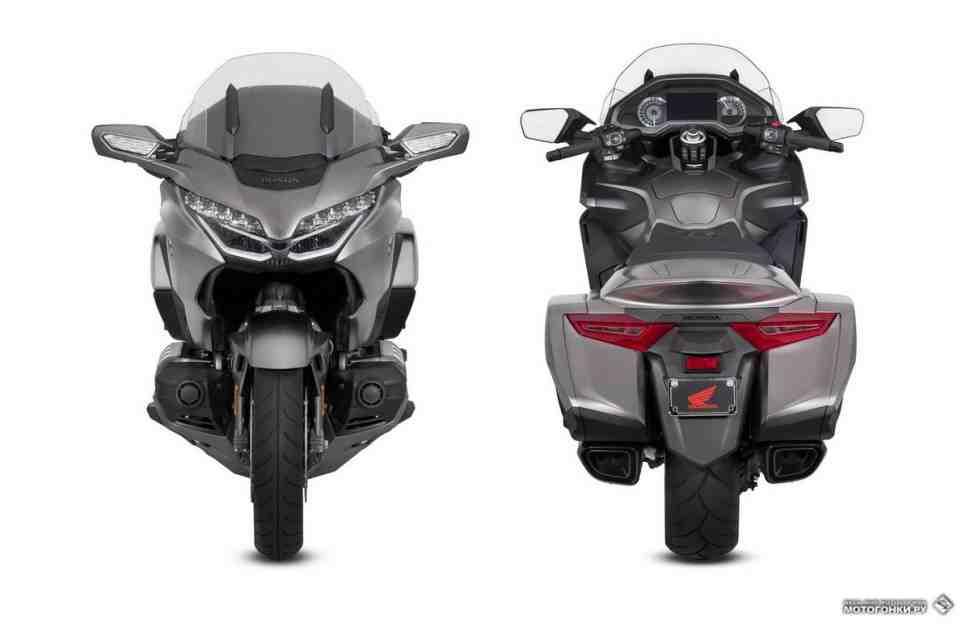 Новое поколение Honda GL1800 Gold Wing: характеристики, фото и видео