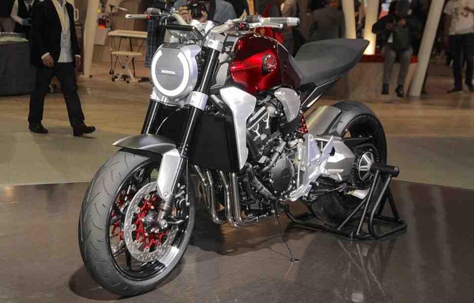 Tokyo Motor Show: Honda Neo Sports Café будет базироваться на двигателе от CB1000