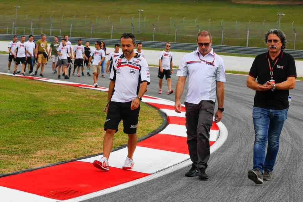 Sepang International Circuit провел специальную обработку асфальта перед этапом MotoGP