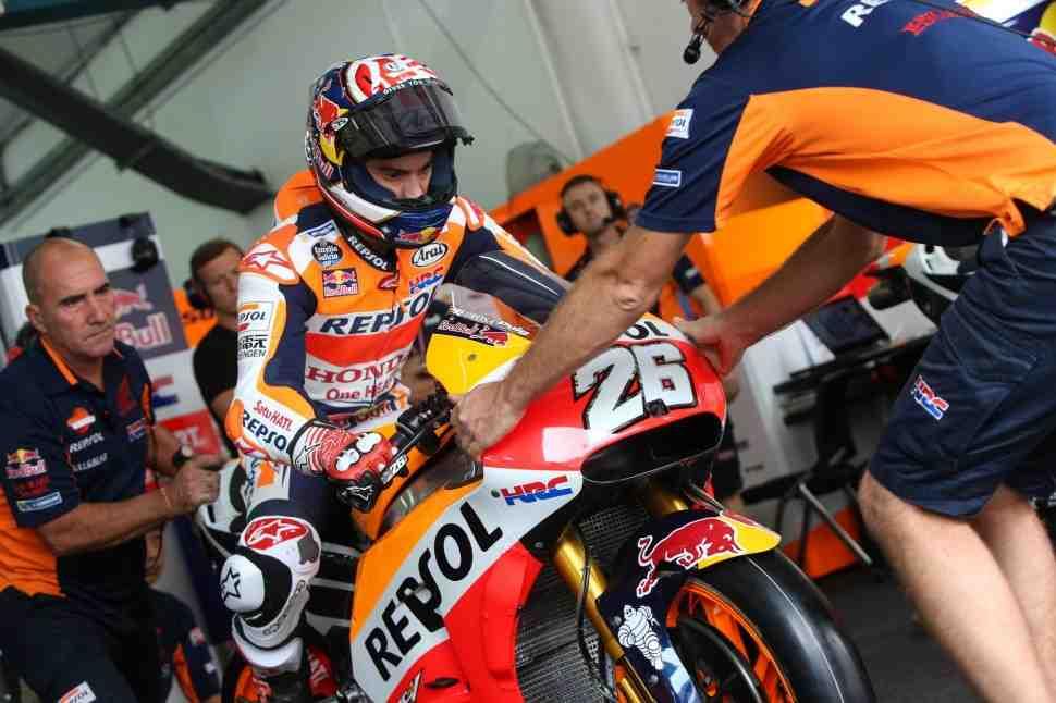 MotoGP: Результаты квалификации Гран-При Малайзии