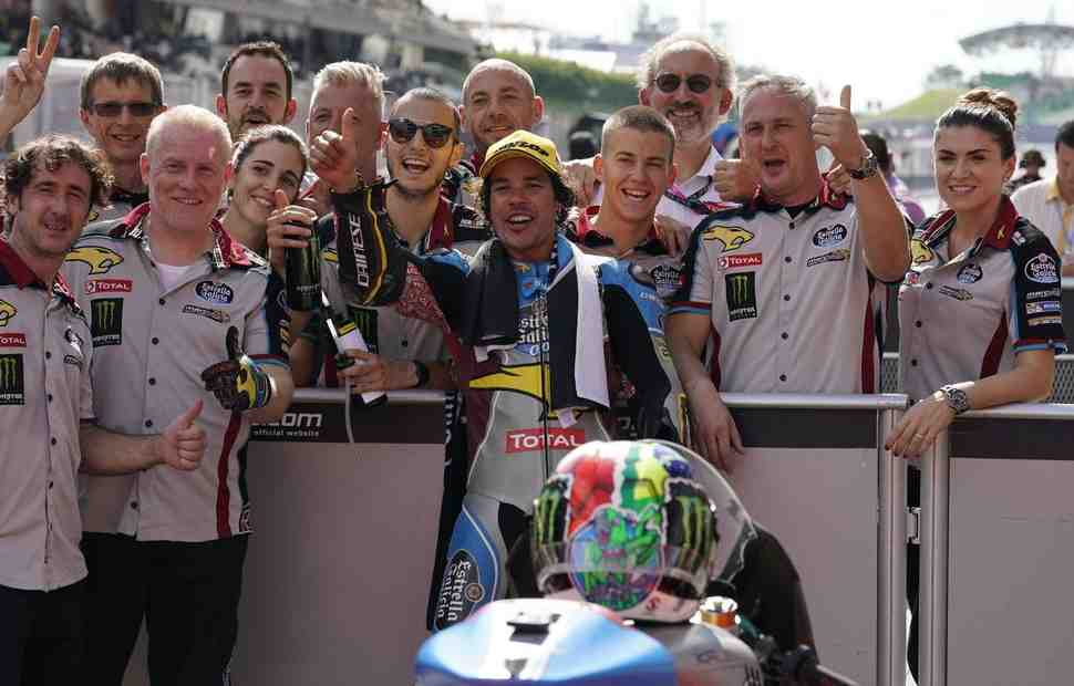 Moto2: Квалификация Гран-При Малайзии - Морбиделли одной рукой взялся за титул