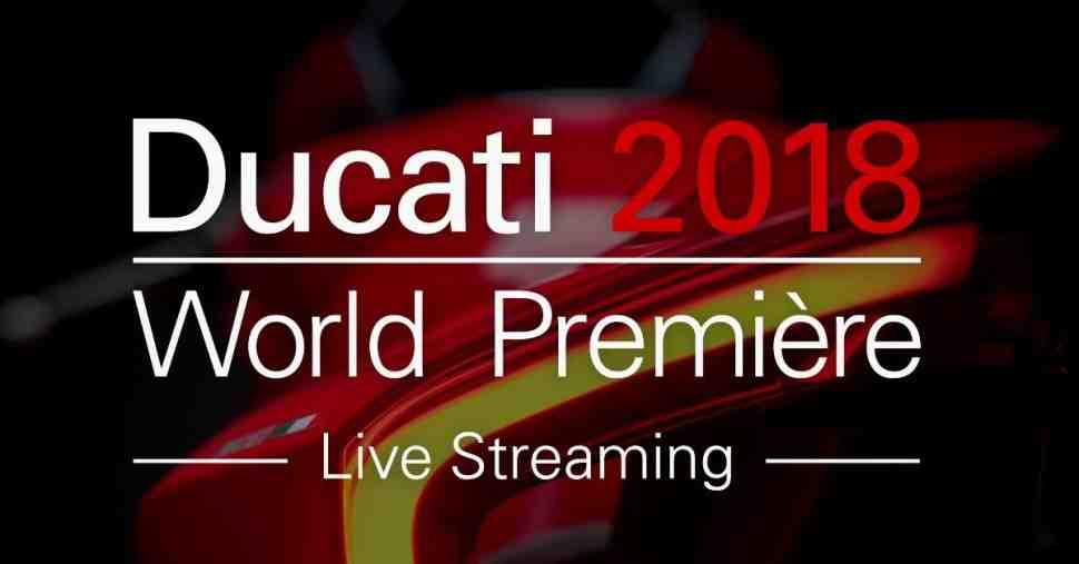 EICMA-2017:  5 ноября смотрите презентацию Ducati в прямом эфире на МОТОГОНКИ.РУ