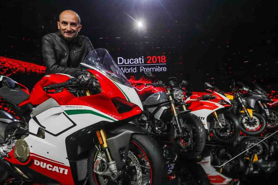 EICMA-2017: Ducati Panigale V4 Speciale (2018) - 226 л.с. при весе 174 кг