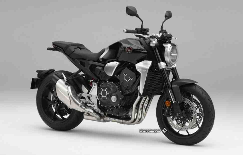 Первые бомбы EICMA-2017: радикально новый Honda CB1000R (2018)