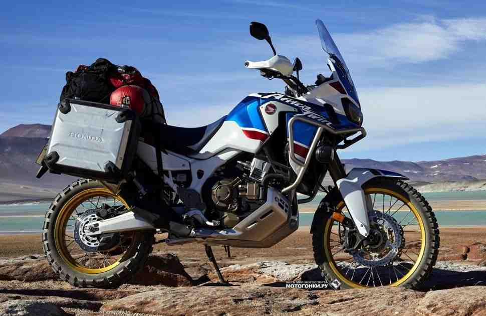 EICMA-2017: Honda CRF1000L Africa Twin Adventure Sports (2018) - еще ближе к Дакару