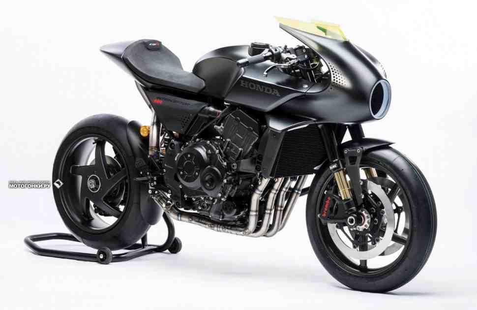 Новый концепт Honda CB4 Interceptor на EICMA-2017