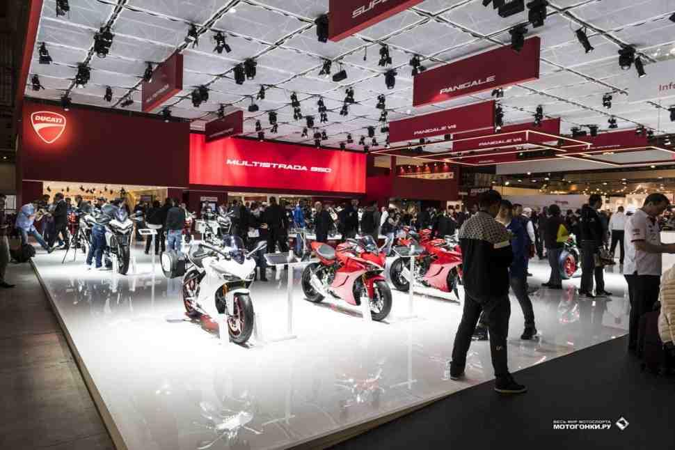 Новинки Ducati на EICMA-2017: V4, Scrambler, Multistrada, Monster - фото и видео