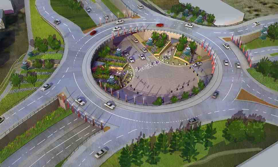ПДД: Вступили в силу поправки, касающиеся проезда через перекрестки с круговым движением