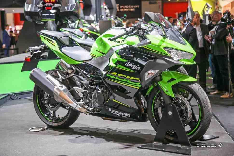 Kawasaki Ninja 400 на EICMA-2017: Новая «четырехсотка» - снова оптимальный выбор?