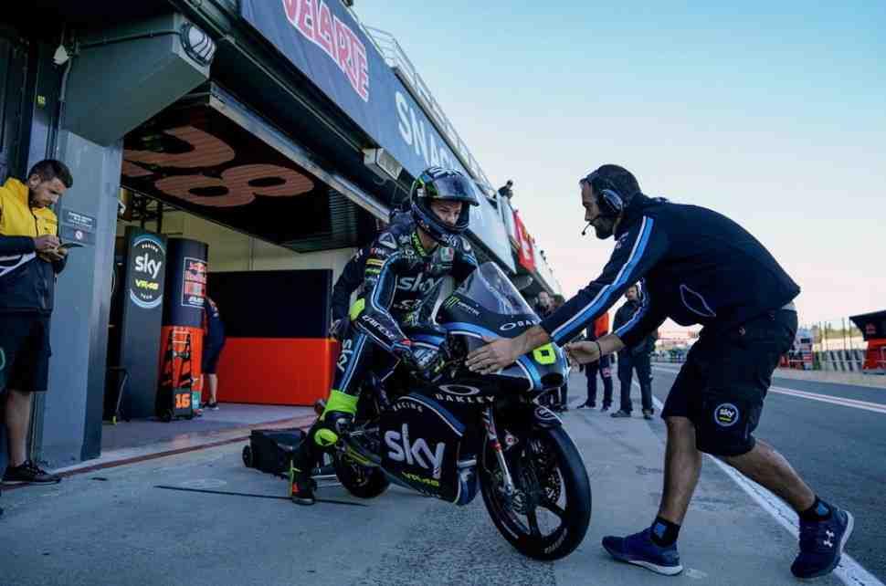 Moto3: Николо Булега травмировался в Валенсии и прооперирован