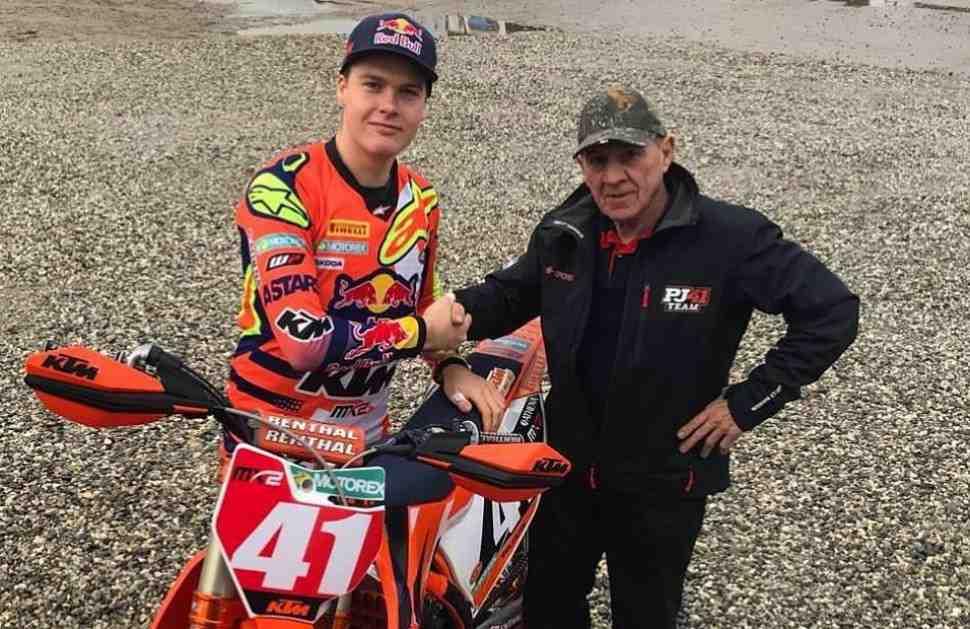 Мотокросс: в сезоне-2018 наставником чемпиона Мира MX2 станет Гарри Эвертс