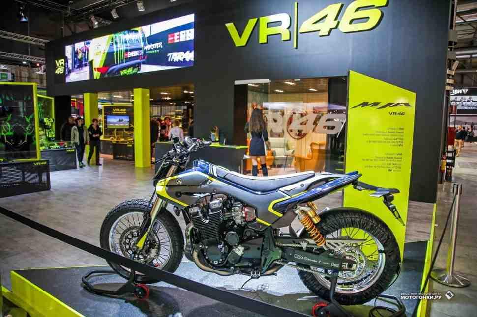 EICMA-2017: Валентино Росси показал свой спорт-кастом Yamaha MYA VR46