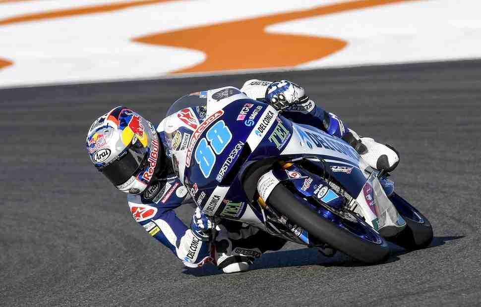 Moto3: Хорхе Мартин из Gresini стартует с поул-позиции в Валенсии