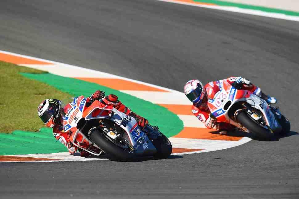 MotoGP: Лоренцо и Довициозо - прощай, Mapping 8!