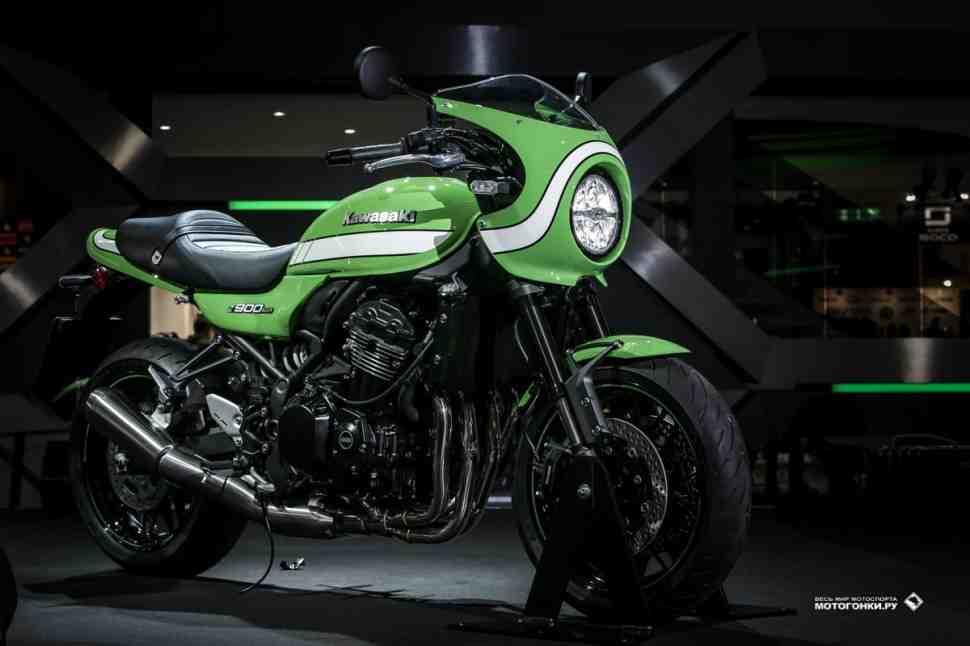 EICMA-2017: Kawasaki Z900RS и Z900RS Cafe - в стиле добротного нестареющего «железа»