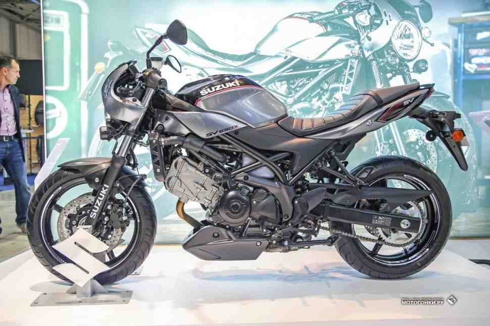 EICMA-2017: Ретромания - Suzuki SV650X - еще один мотоцикл для любителей железа