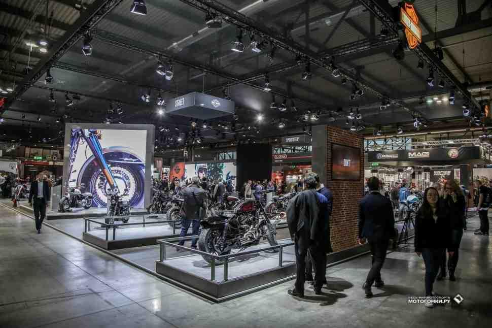 Новинки Harley-Davidson на EICMA-2017: видео обзор и фотографии из Милана