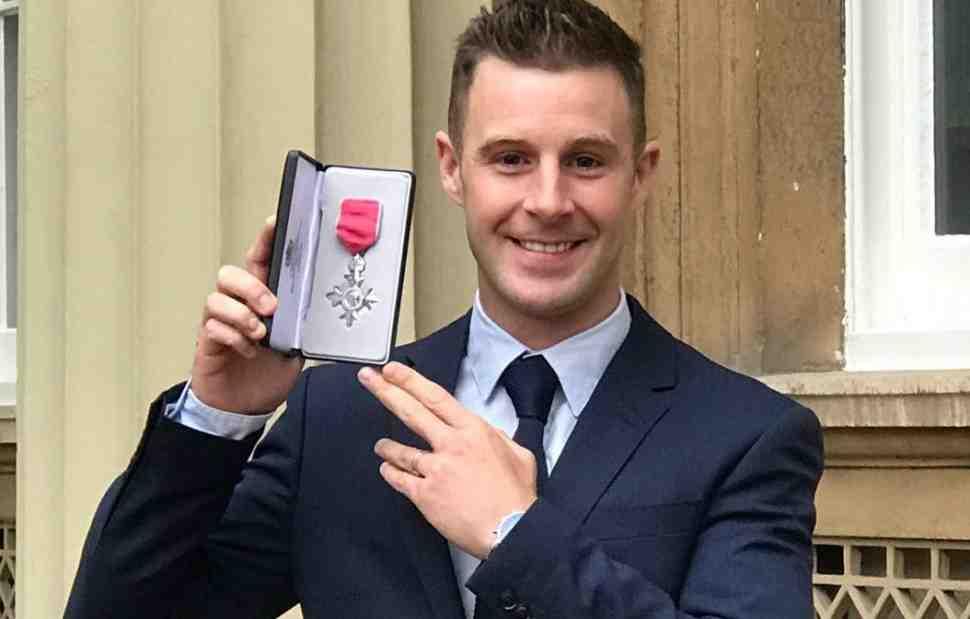 3-кратный чемпион WorldSBK Джонатан Рэй удостоен Ордена Британской Империи (MBE)