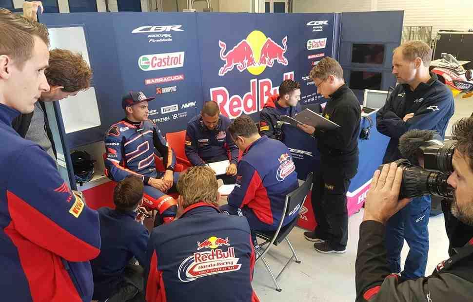 Объединенные результаты тестов MotoGP и WSBK на Circuito de Jerez, 22 ноября 2017
