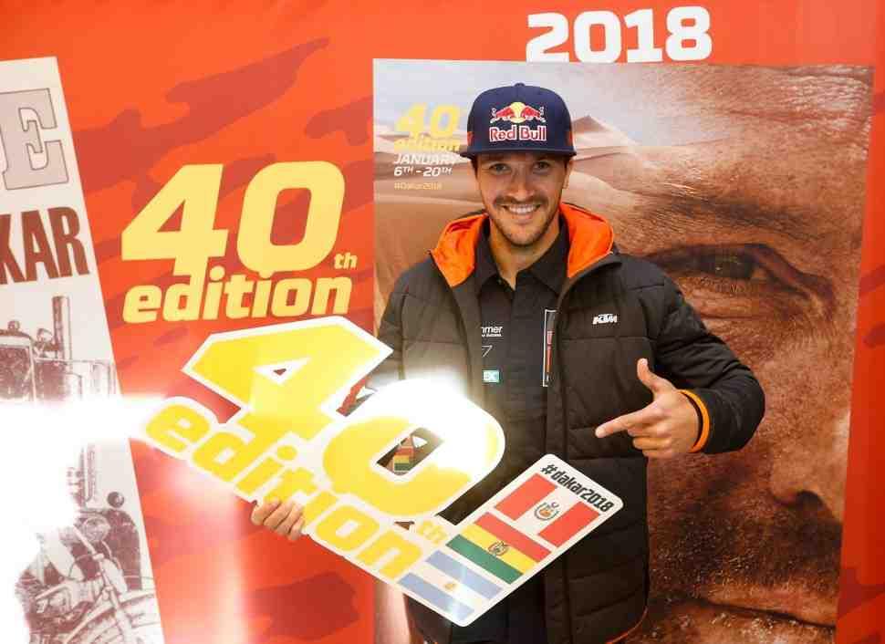 40-й ралли-марафон Дакар-2018 представлен в Париже во всех деталях