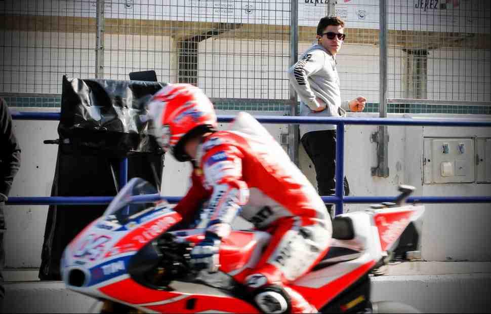 MotoGP: Под присмотром Большого Брата - что Марк Маркес делает в Хересе