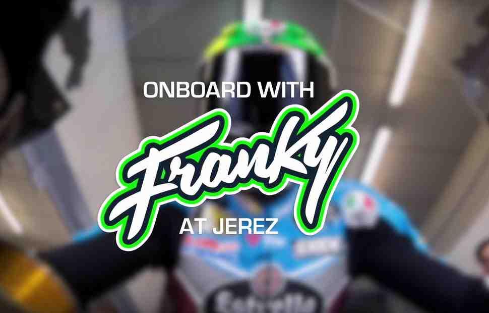MotoGP: Видео - Круг по обновленному Circuito de Jerez с Франко Морбиделли