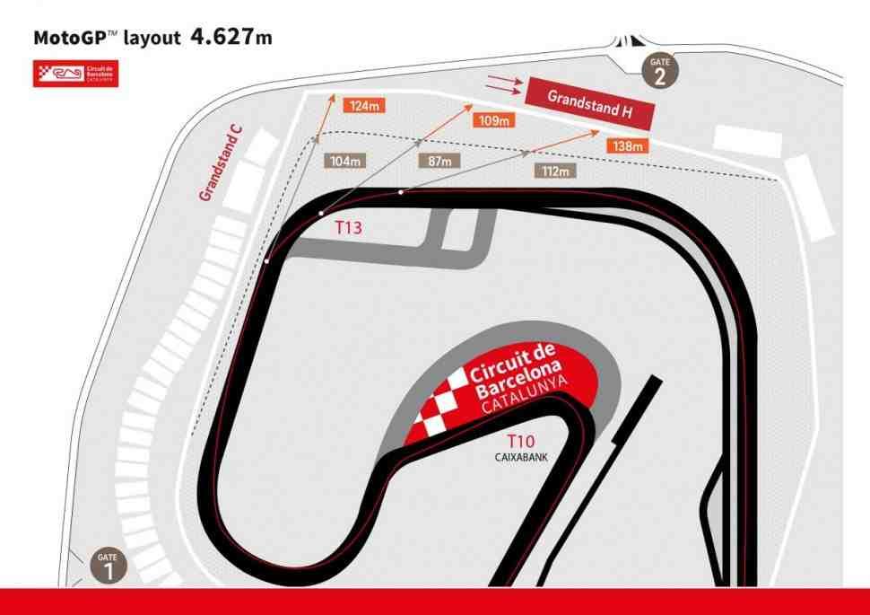 MotoGP: Circuito de Barcelona-Catalunya ждет новая реконструкция и перекладка асфальта