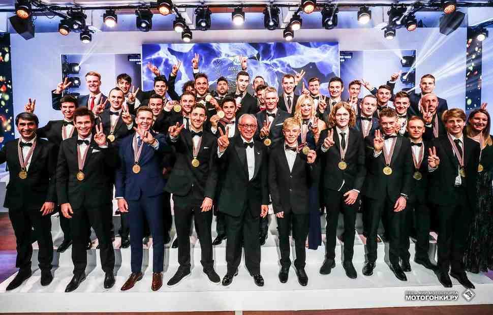 FIM Awards 2017: 34 чемпиона мира по мотогонкам награждены в Андорре